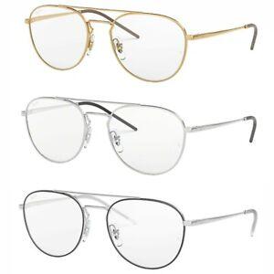 taglia 40 99b6a 05ef9 Dettagli su Occhiali Da Vista Ray Ban 6414 Uomo Donna Montatura Eyeglasses  Squadrato