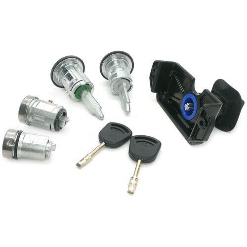 Complete 5 Lock Set 2006-2013 2 Keys Doors Bonnet Ignition Fits Ford Transit