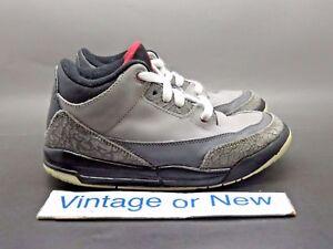 Image is loading Nike-Air-Jordan-III-3-Stealth-Retro-PS- 6a7d23ffe186