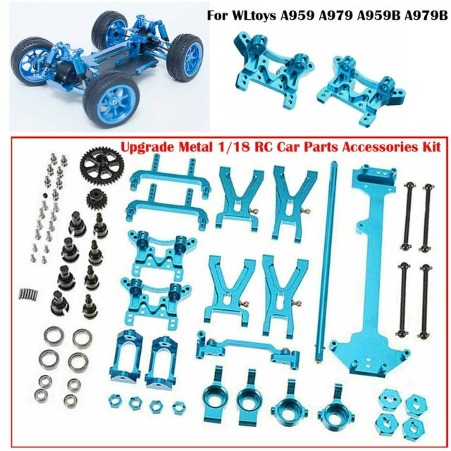 4pcs RC 1//18 Racing Cars Lower Swing Arms for RC 1//18 Wltoys A949 A959 A969