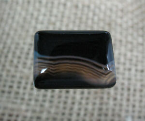 Banded-Agate-Cabochon-16-x-12-mm-Item-75678