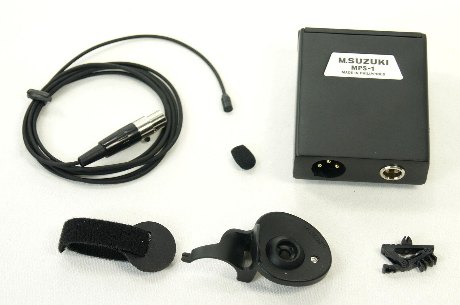 punti vendita Micro pour harmonica harmonica harmonica Suzuki HMH-100 lavallière   Harmonica microphone set  a buon mercato