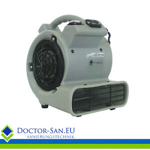 Bautrockner Bauventilator Baugebläse 361 m3/h mit Betriebsstunde<wbr/>nzähler
