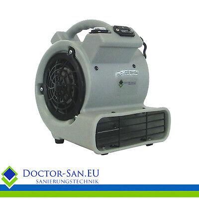 Bautrockner Bauventilator Baugebläse 361 M3/h Mit Betriebsstundenzähler