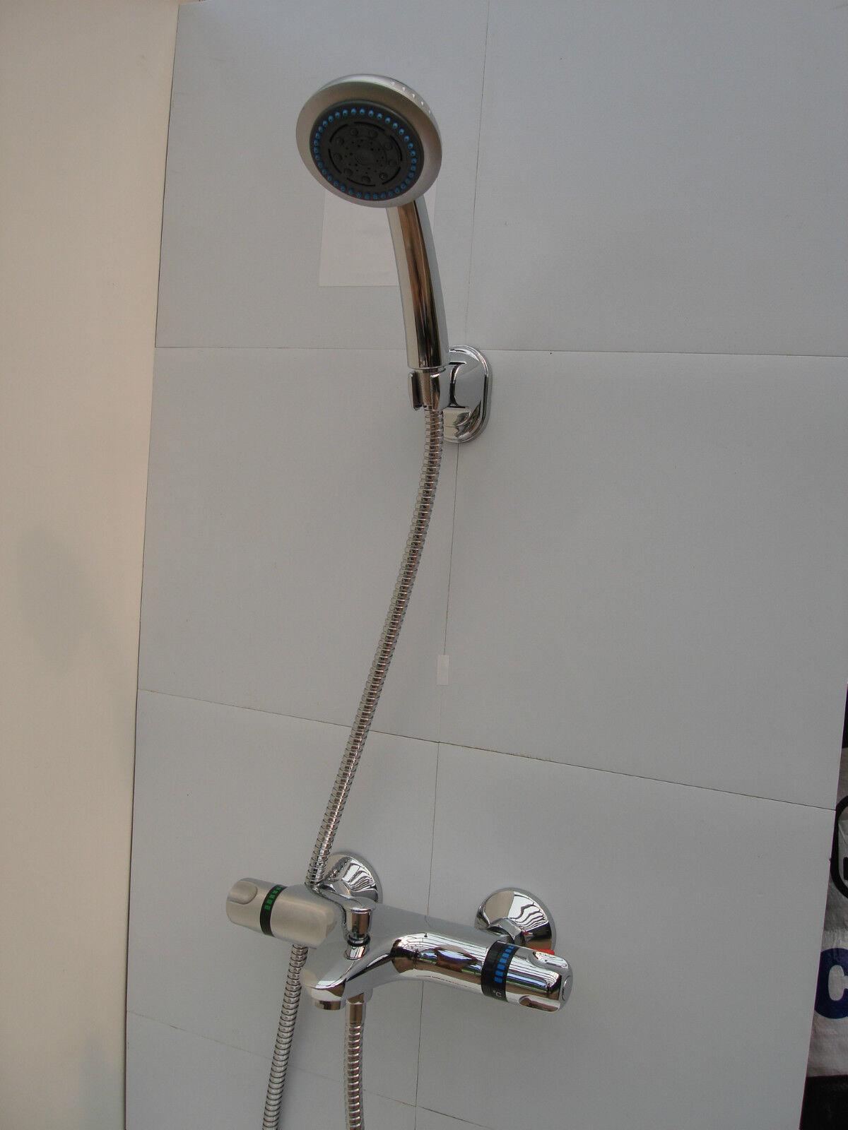 Thermostatique mural bain douche mélangeur robinet robinets, de poche, Tuyau, Support 064 013A