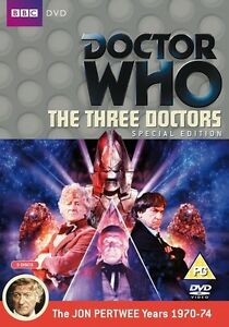 Doctor-Who-The-Three-2-Discos-Edicion-Especial-Dr-Nuevo-sin-Sellar-Dr-Who-BBC