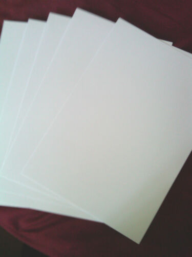 160gsm 10 x A4 Sheets Ice White Velvety smooth Printable Card A4
