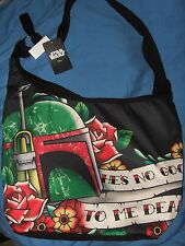 Star Wars Boba Fett Bounty Hunter Tattoo Hobo Bag Tote Hes No Good To Me Dead