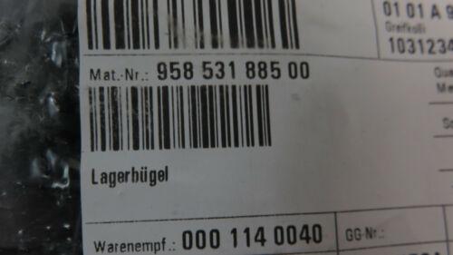 Porsche 958 Cayenne Lagerbügel Bowdenkabel Fahrertür 95853188500 NEU