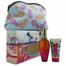 Escada Miami Blossom Set 50 ml Eau de Toilette & 50 ml Bodylotion & Clutch Bag