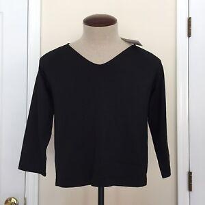 87 Nwt Kvinde Ellen Tracy Sweater Linda Allard 609589242414 Retail 165 Sort Silke Størrelse X qBwIEt7t