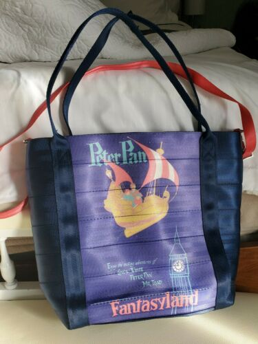 Disneyland 60th Anniversary Harveys Peter Pan Tote