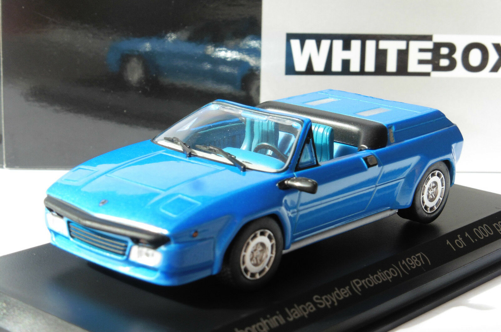 Lamborghini Jalpa Spyder Topit Metal 1987 Whitebox Wb511 1 43