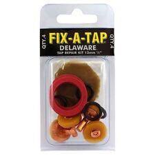 "Fix-A-Tap Delaware Tap Repair Kit 13mm (1/2"" inch) soft turn - 4pc"