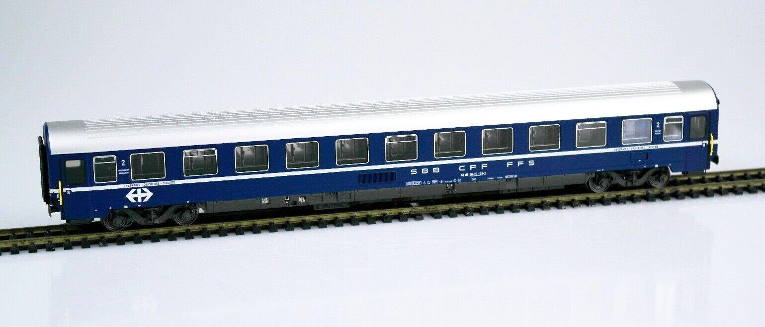 LS modellos Exclusive 47 302 traccia h0 vagoni BCM, SBB, Ep IV, OVP, NUOVO