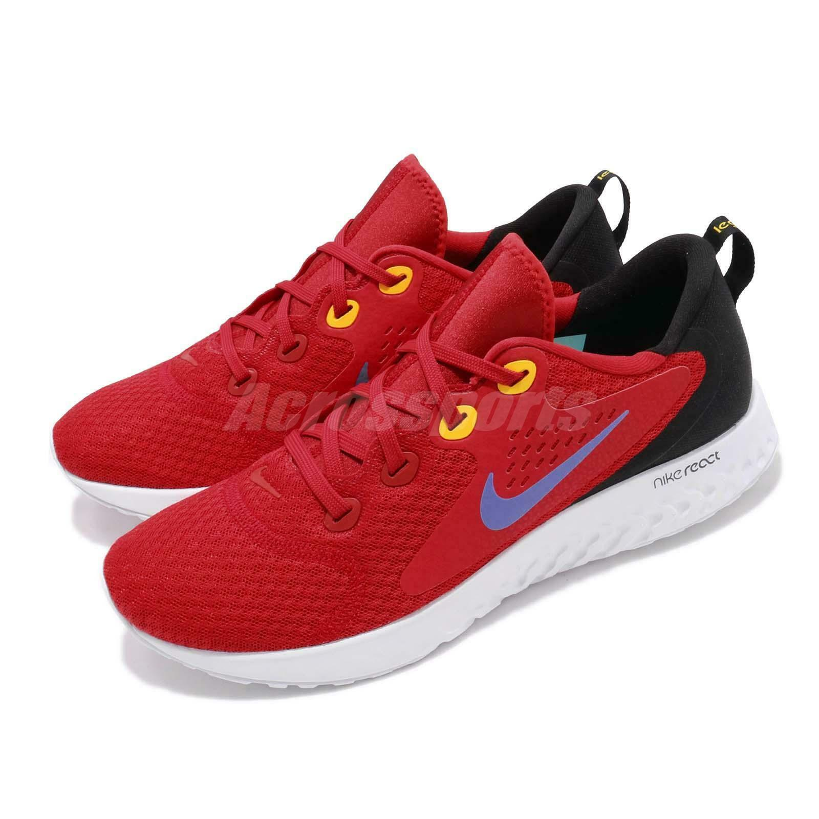 Nike Legend React Red Hyper Grape White Men Running shoes Sneakers AA1625-601