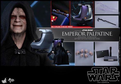 varm leksaks 1 6 MMS468 stjärna Wars kejsare Palpatine Figur Deluxe Ver samling leksak