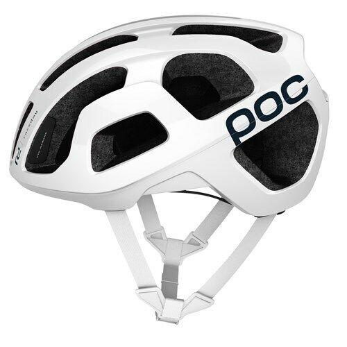 Nuevo Poc Octal Raceday hidrógeno blancoo Casco Medio
