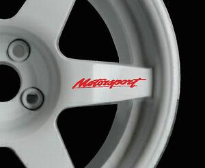 Details Zu Motorsport 8 X Logo Aufkleber Grafiken Aufkleber Alufelgen Jdm Für Ford Räder