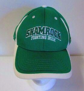 6f60687621c Image is loading NOTRE-DAME-Shamrock-Fighting-Irish-Green-Baseball-Cap-