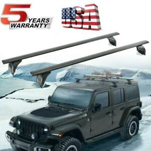 DOT-Roof-Rack-Cross-Bar-Carrier-OEM-Replace-For-18-19-Jeep-Wrangler-Hard-Top-JL