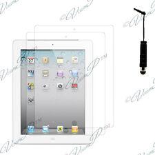 2x Pellicole protettive scudo mini stilo IPAD 3 2 4 Retina Nuovo iPad