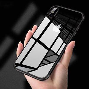 Funda-carcasa-iPhone-X-Hybrid-transparente-y-felxible-proteccion-camara-Negro