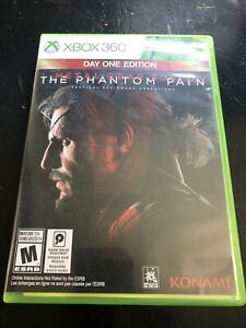 Metal Gear Solid V: The Phantom Pain -- Day One Edition (XBOX 360) Map Included