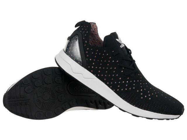 reputable site 5f02c 1bf8c Adidas Originals ZX Flux Advanced Asymmetrical Primeknit Mens Trainers Shoes