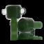 Blue-Green-Black-Color-Glass-on-Glass-Slide-Bowl-Snapper-Bubble-Style-14-18mm thumbnail 10