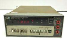 Hp Agilent 3435a Benchtop Digital 35 Digit Multimeter Tested