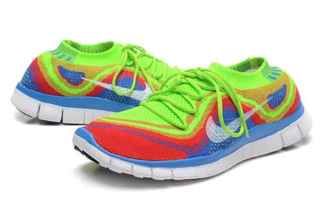 Nike Flyknit 5.0 Rainbow Mens Size 11 US 45 EUR 615805 316