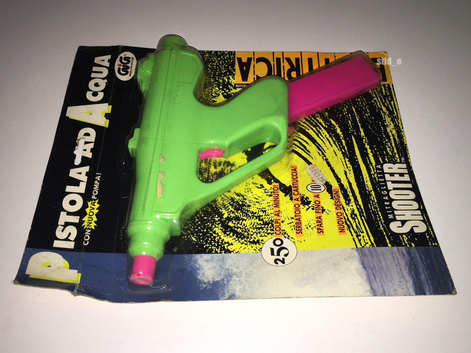 LARAMI   WATER GUN SHARP SHOOTER MOTORIZED MOTORIZED MOTORIZED   1990 MOC NEW   SUPER SOAKER VINTAGE c3f509