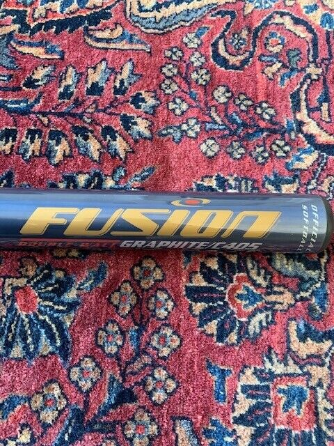 1999 New Dudley Fusion 2XWall 34 25z Slowpitch Softball Bat Graphite C405 Alloy