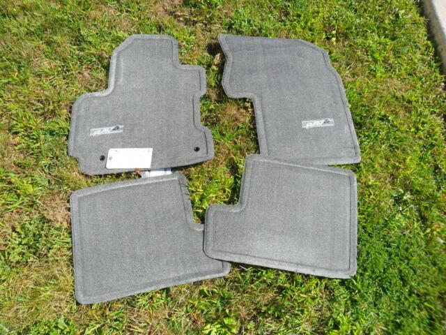 For Dark Charcoal Carpet Floor Mats Genuine PT208-42041-01 for Toyota Rav4 04-05