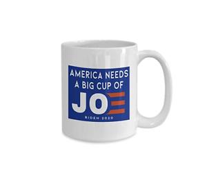 Politics Coffee Mug America Needs A Big Cup Of Joe Biden 2029 Freeshiping