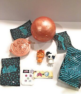 Pets Heart Barker /& It Kitty Series 3 Wave 2 Ultra Rare Gold Ball