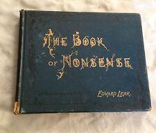Edward Lear - The Book of Nonsense - Twenty Fifth Edition - Frederick Warne