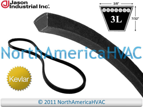 "Gates Dayco Homko Heavy Duty Aramid V-Belt 6723 3L230DWK L323 RM3145 3//8/"" x 23/"""