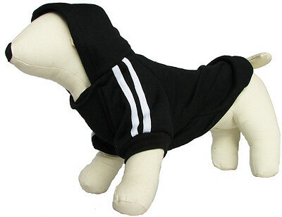 MEDUIM TO LARGE DOG HOODIE JUMPER CLOTHING SWEATER 4 COLORS 7 SIZES CLOTHES