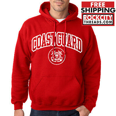 COAST GUARD HOODIE US Military Hooded Sweatshirt United States USCG Army Semper