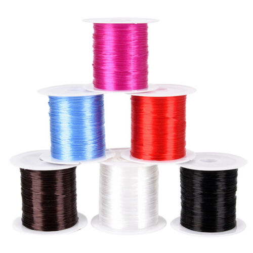 Strong Stretchy Elastic Beading Thread Cord Bracelet String Jewelry DIY 1MM Rx