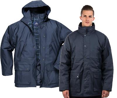 Portwest Dundee Lined Jacket Coat Waterproof Outdoors Work WorkwearS521