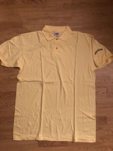 Mens vintage 80s Meyers Rum polo shirt