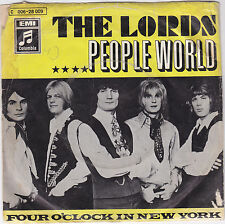 """Single 7"""" The Lords """"People World/Four O´clock in new york"""""""