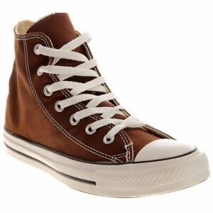 Converse-Chuck-Taylor-All-Star-High-Top-Casual-Sneakers-Brown-Mens-Size-4