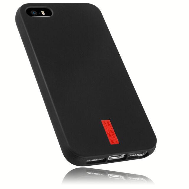 mumbi Hülle für Apple iPhone SE 5 5s Schutzhülle Case Tasche Cover Schutz