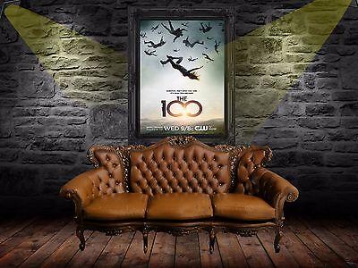 The 100 TV series Movie Poster Serie A0-A1-A2-A3-A4-A5-A6-MAXI 366