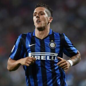 Nike-2015-2016-Inter-Milan-Home-Shirt-Jersey-Jovetic-10-Italy-Rare-X-Large-XL