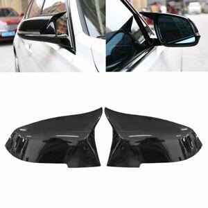 Painted Gloss Black Mirror Cover Cap for BMW F20 F21 F22 F30 F31 F32 F33 F36 E84